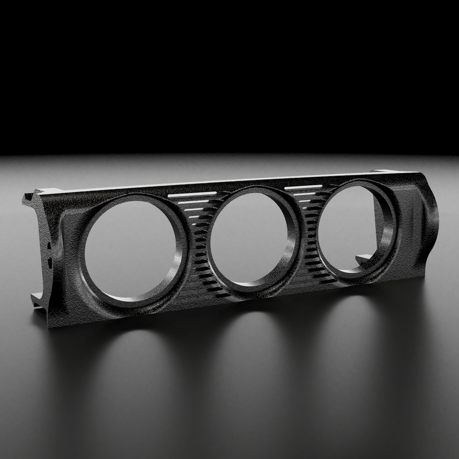 BMW E30 Center Vent Three Gauge Pod