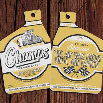Champ's Speedshop - Vanilla Air Re-Freshener