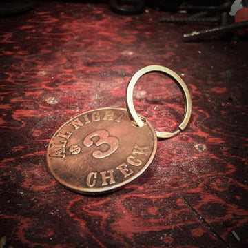 Champ's Speedshop - Brothel Coin - Vintage Keychain