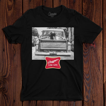 Champ's Speedshop - Low Life T-shirt - Black