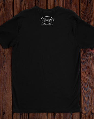 Champ's Speedshop - 63-68 California Black Plate T-shirt - Custom!