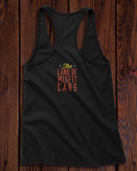 Champ's Speedshop - Land of Misfit Cars Ladies Tank-top