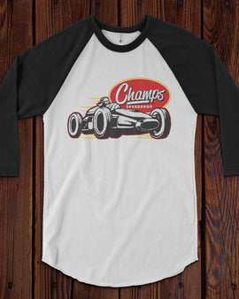 Champ's Racing Baseball T