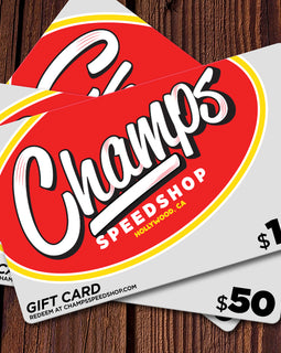Champ's Speedshop Gift Card