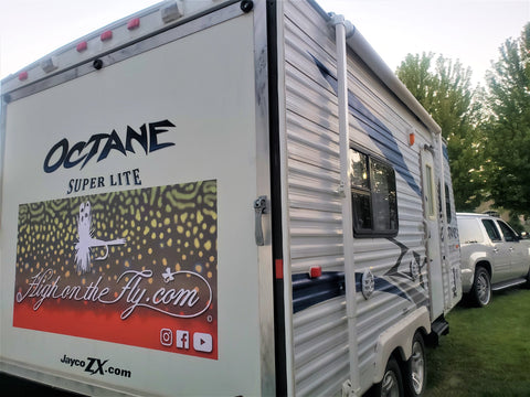 High On The Fly RV Trailer