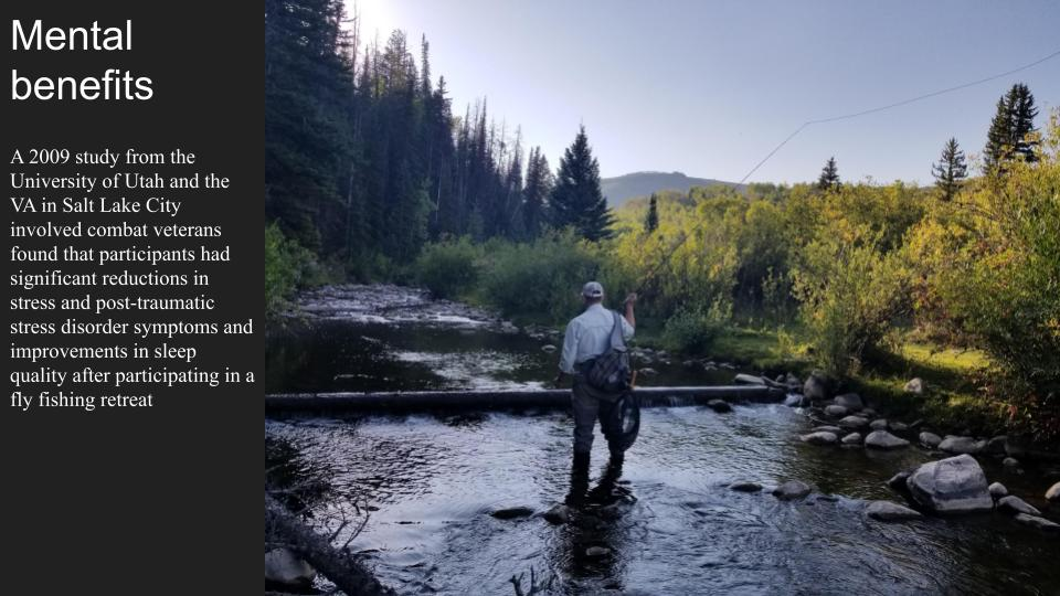 Mental Benefits of fly fishing