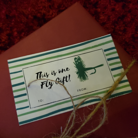 Fly Fishing Gift Tag
