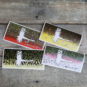 Trout Art Stickers