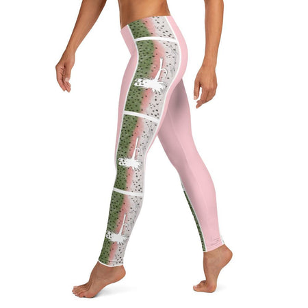 Rainbow Trout Leggings (pink)