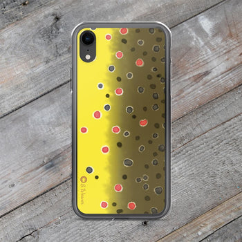 Brown Trout iPhone Case
