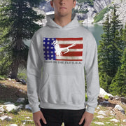 HIGH ON THE FLY U.S.A. Hooded Sweatshirt