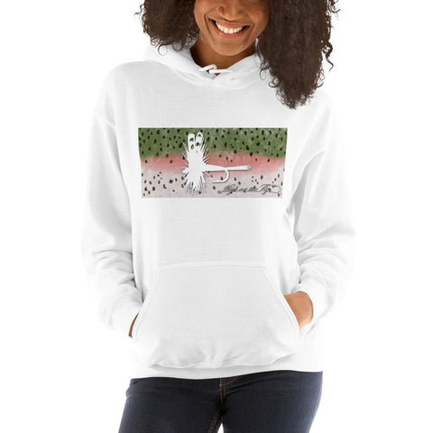 Rainbow Trout, Hooded Sweatshirt
