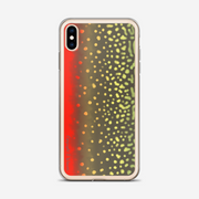 Brook Trout Skin Art iPhone Case