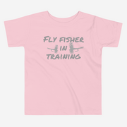 Fly Fisher In Training - Toddler Short Sleeve Tee