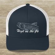 Fly Fish Trucker Cap
