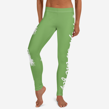 High on the FLY Leggings, Green