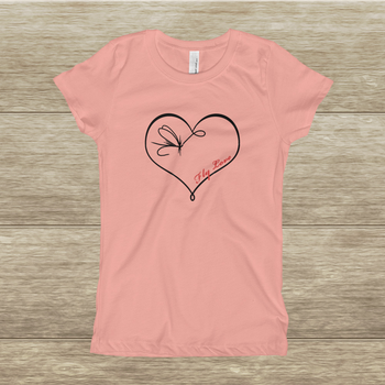 """Fly Love"" Young Girl's T-Shirt"