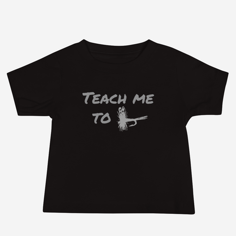 Teach Me To Fly - Baby Jersey Short Sleeve Tee