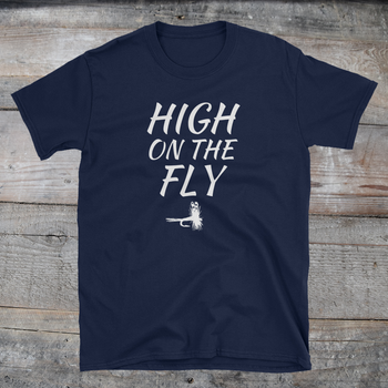 HIGH on the FLY tee