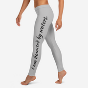 Haunted By Waters Leggings, Grey