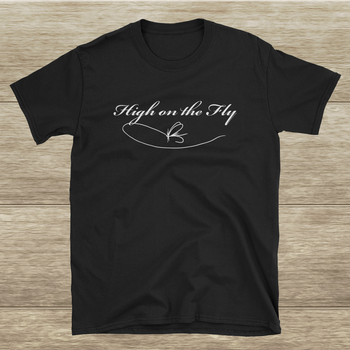 """High on the Fly"" Short-Sleeve Unisex T-Shirt"
