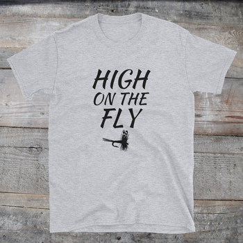 HIGH on the FLY tee (light colors)