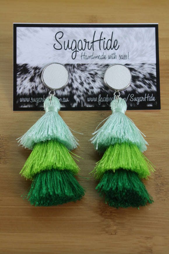 Trio Tassel Earrings