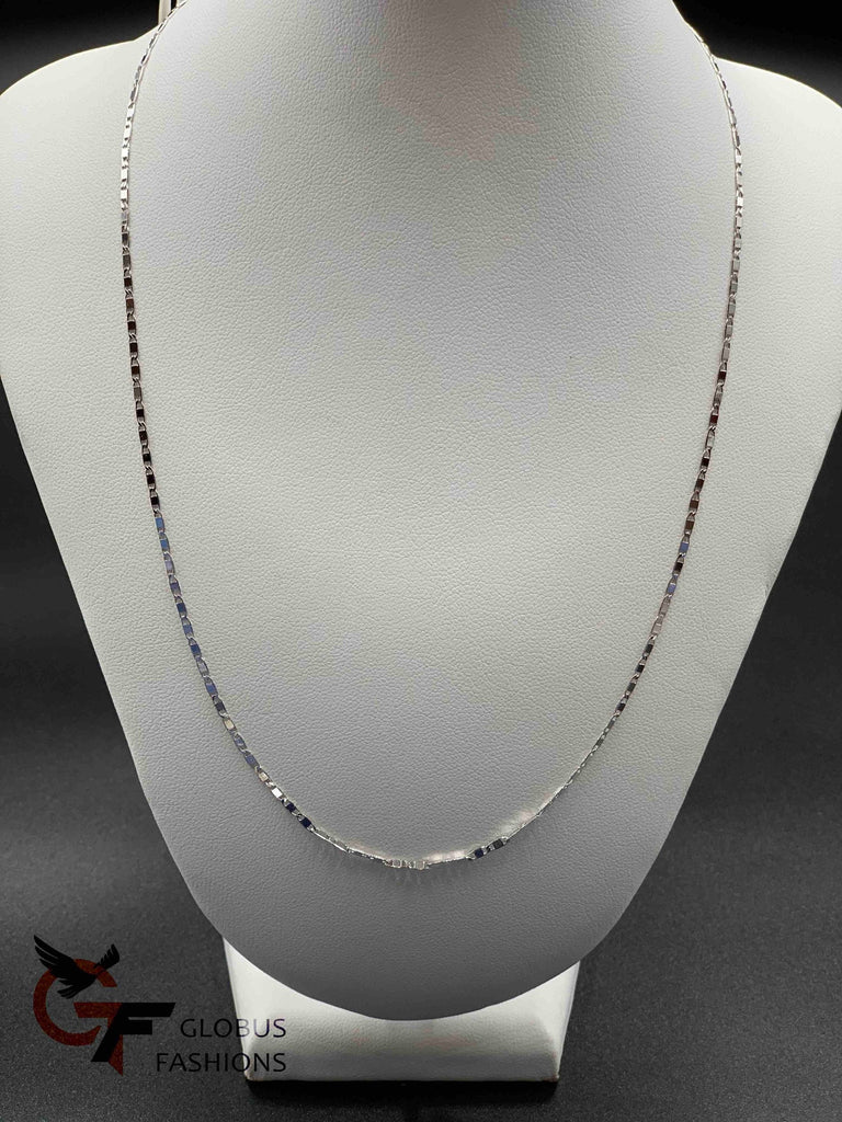 Simple design Silver chain