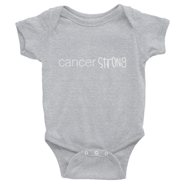 """Cancer Strong"" Infant Bodysuit"