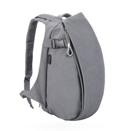 """Rolland"" Men's Backpack in Grey"