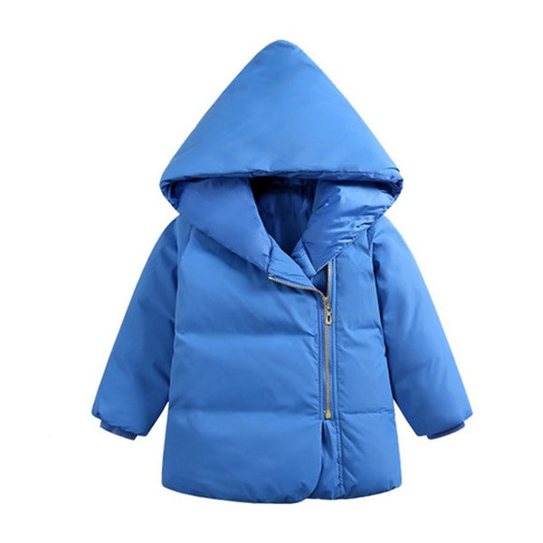 """Icy Warmth"" Kids Jacket in Blue"