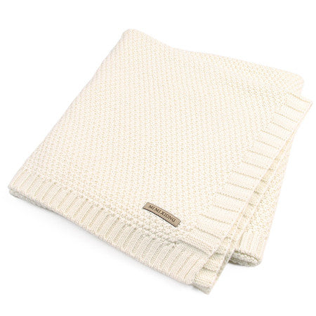Knitted Baby Blanket (organic)