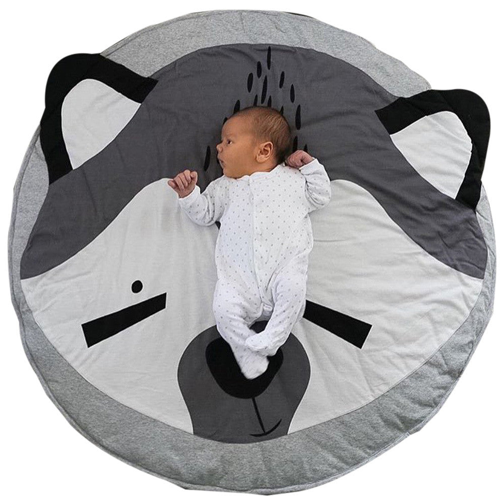 """Play Like An Animal - Raccoon"" Baby Play Mat"