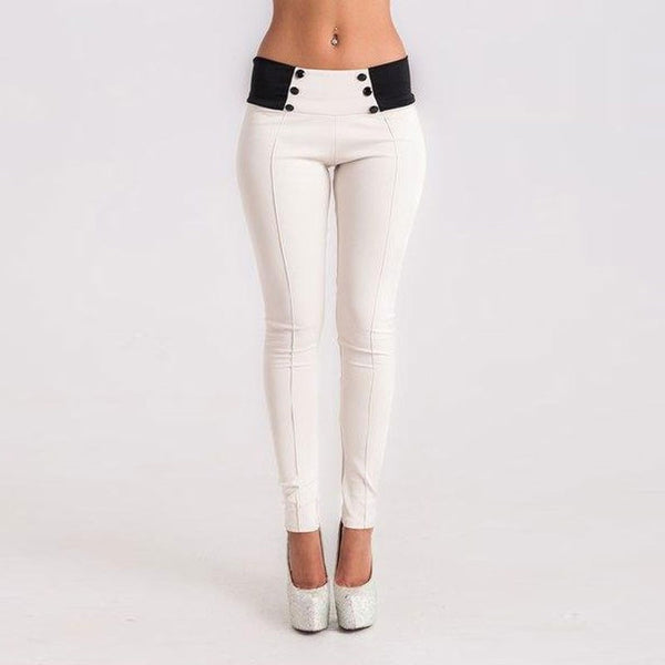 Pencil Pants  Slim Low Waist