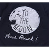 """To The Moon"" Baby Long Sleeve Romper"