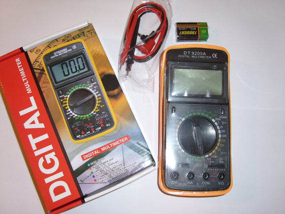 DIGITALNI MULTIMER DT9205A -veoma prec