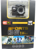 Go pro Wifi sports HD DV 1080 Full HD -NOVO