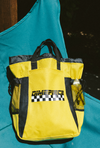 Dimepiece Moto Convertible Tote / Backpack Yellow