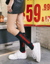 Dimepiece Add Tax Crew Socks Black