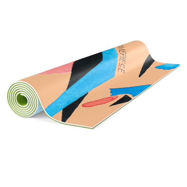 Dimepiece Watercolor Yoga Mat