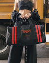 Dimepiece Universe Sports Duffle Bag Black Red