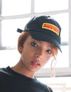 Dimepiece Racing Checker Hat Black