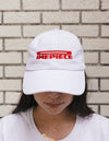 Dimepiece Racing Checker Hat White