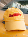 Dimepiece Racing Checker Hat Yellow