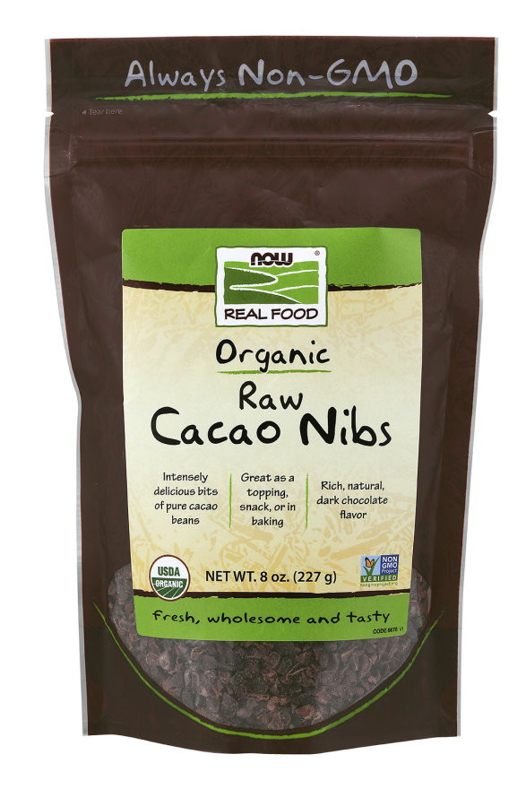 Cacao Nibs Organic and Raw