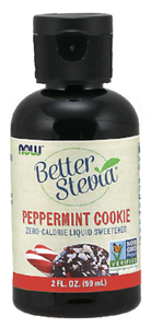 Stevia Peppermint Cookie Liquid Sweetener