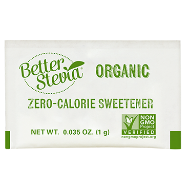 Now Better Stevia Packets