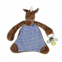Carlson the Colt Pacifier Blanket