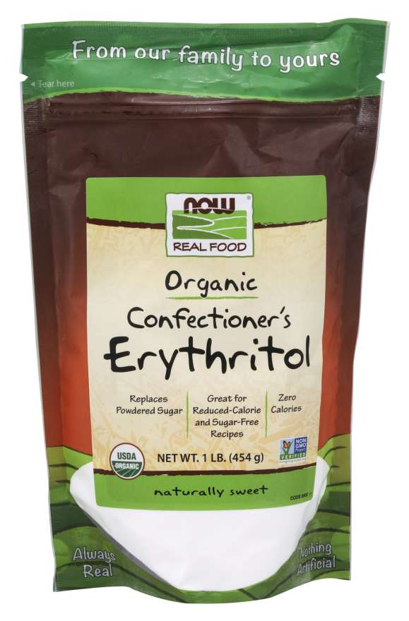 Confectioner's Erythritol, Organic Powder - 1 lb.