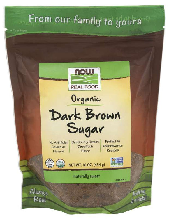 Dark Brown Sugar, Organic - 16 oz.